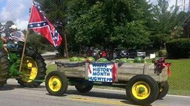 Controversy surrounds float in Hope Mills July 4 parade