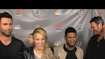 'The Voice' Coaches Talk First Live Round Eliminations