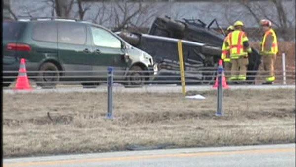 Police ID woman killed in I-78 crash