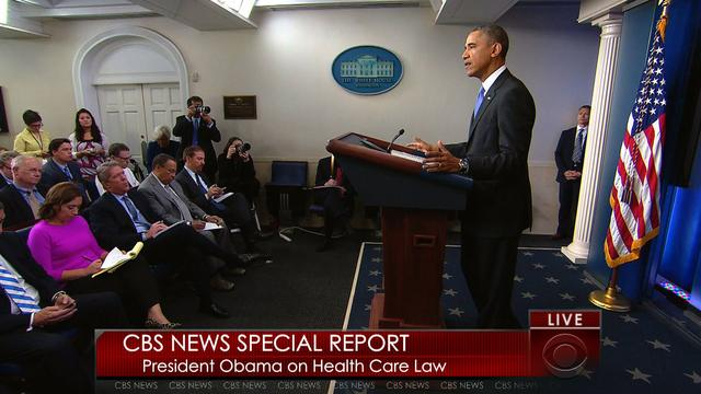 Special Report: Obama announces health care law changes