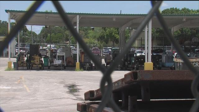Tampa mayor wants to move city truck yard