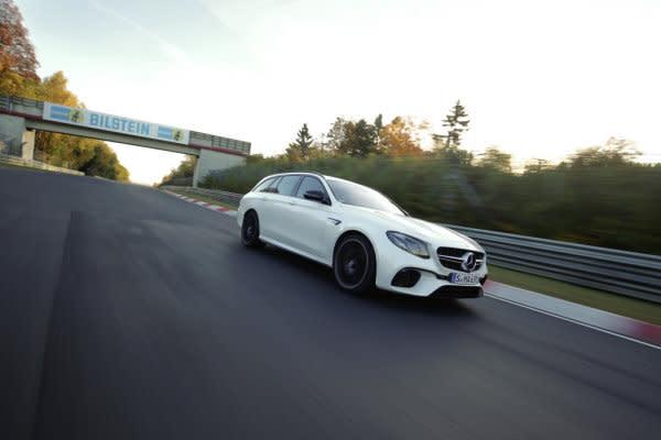 世上最快旅行車是它,Mercedes-AMG E63 S 4MATIC創紐柏林單圈最