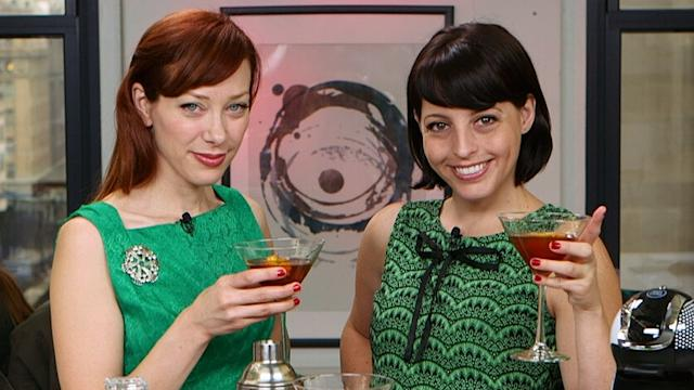 Power Through the Holidays With Alie & Georgia's Cocktail