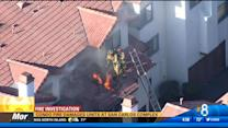 Condo fire damages units at San Carlos complex