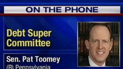 Sen. Pat Toomey On Washington's Debt Super Committee