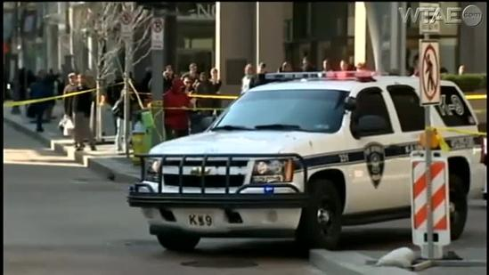 Sheriff's sergeant holds suspects at bay in downtown Pittsburgh shooting