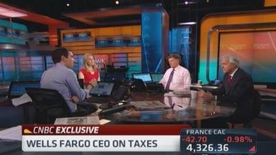 Tax system needs review: Wells Fargo CEO