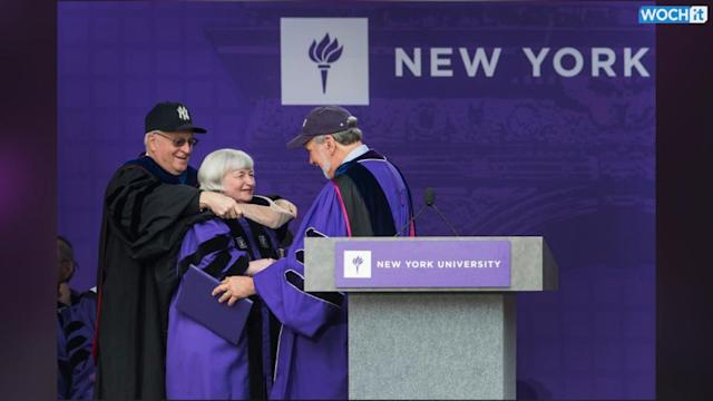 Yellen To NYU Grads: 'You Won't Succeed All The Time'