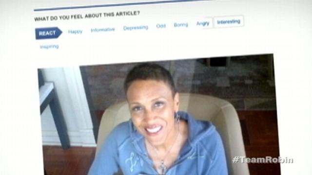 Robin Roberts Tracks Bone Marrow Transplant Progress in Blog