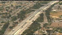 Chopper 8 Raw Footage: Fatal accident on NB I-805 in National City