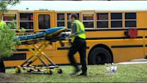 Two Crowley School Buses Crash, Dozens Of Students Injured