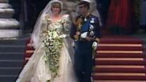 A look back at Charles and Diana's wedding