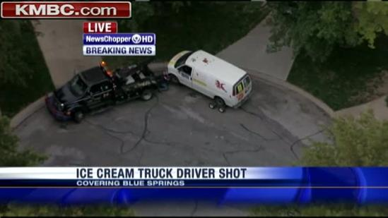 Police seek suspects in shooting of ice cream truck driver