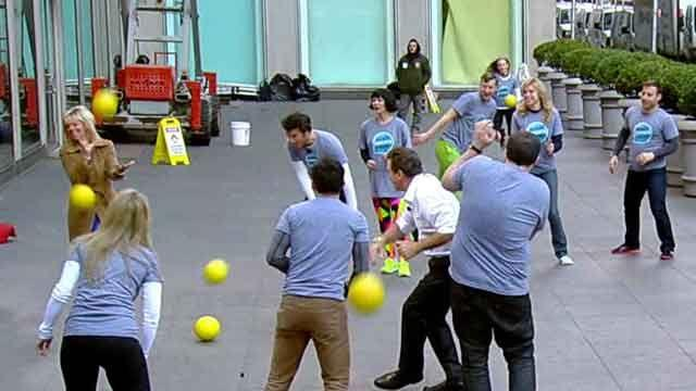 Let's play dodgeball