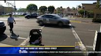 Baby, nanny hit while crossing street in Carmel Valley