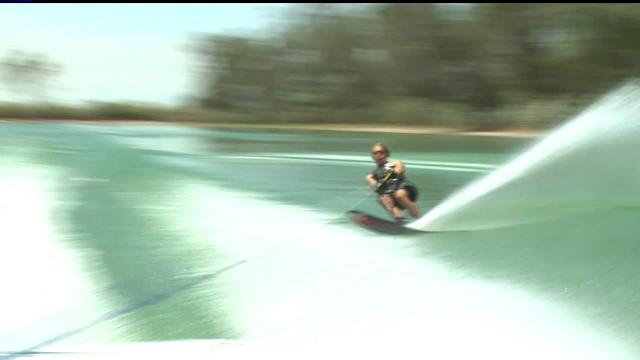 Water Skier Competes To Honor Late Father