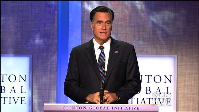 Romney at CGI: Most successful countries are the freest