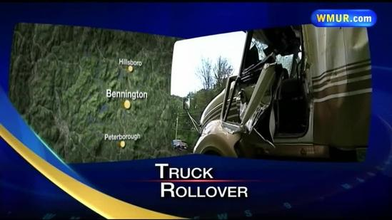 Driver dies after tractor-trailer rollover