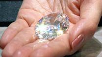 Record-breaking diamond goes to auction in Hong Kong
