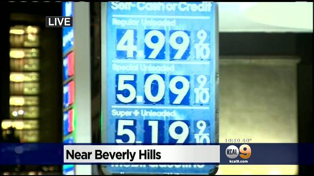 Gas Prices Continue To Rise In SoCal