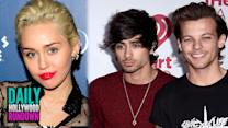 Zayn Malik & Louis Tomlinson's NASTY Twitter Fight - Miley Admits Homosexual Rel