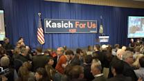 Inside John Kasich's Event As Primary Results Roll In