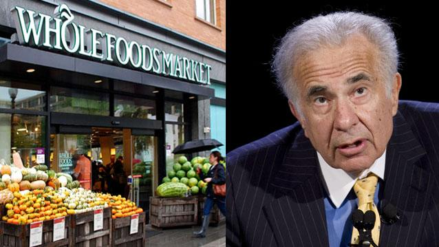 Source: Carl Icahn not planning to bail out Whole Foods