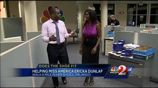 Former Miss America stops by WESH 2