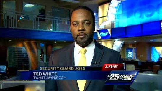 Calling all security officers: Job fair this weekend