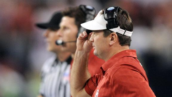 Fiesta Bowl: Bob Stoops no-huddle Pt. 6