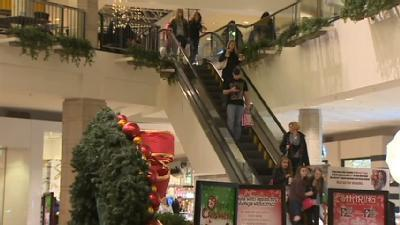 Shoppers Crowd Stores Early For Black Friday Deals
