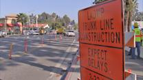 Coldwater Canyon Avenue closure sees first weekday commuters