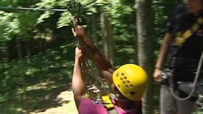 Take Zipline Ride For Staycation Fun