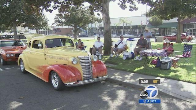 Route 66 classic car show kicks off in IE