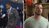Draft Day: Who would Arian Foster and Tom Welling select as their No. 1 draft pick?