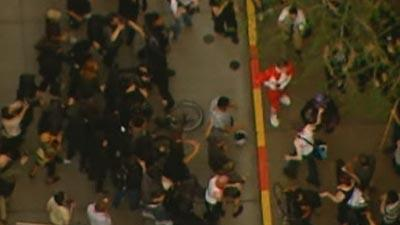 Seattle May Day Protests End in Some Arrests