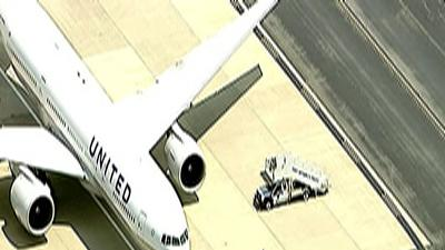 Raw: FBI Meets Plane After Poison Threat