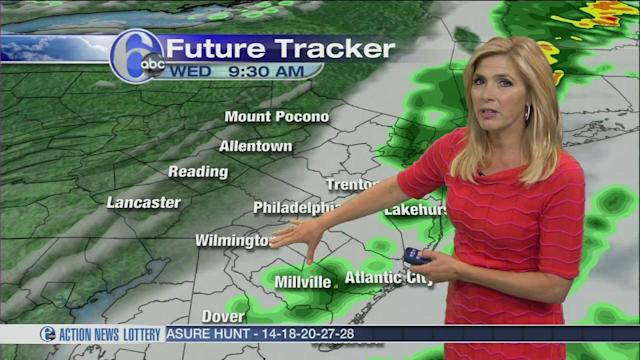 AccuWeather: Flooding Downpours and Severe Storms Tonight