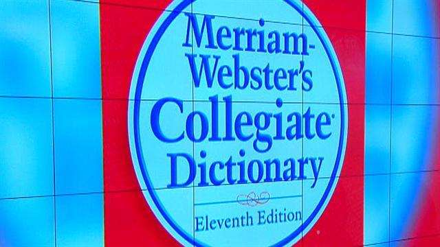 Merriam-Webster's top ten words of 2012