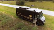 UPS tests launching drones from delivery trucks