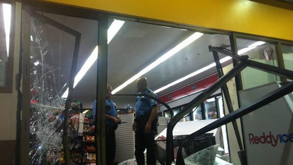Smash-and-grab robbers nab ATM