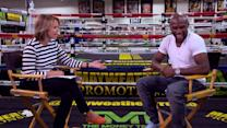 "Floyd Mayweather Jr. talks ""Fight of the Century."""