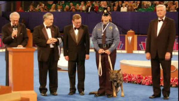 Top honor for Pa. drug enforcement dog and partner