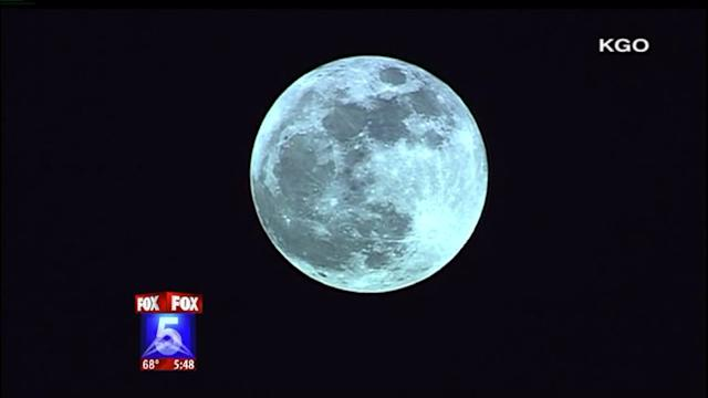 Supermoon Shines This Weekend