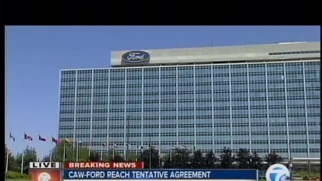 CAW and Ford reach tentative agreement