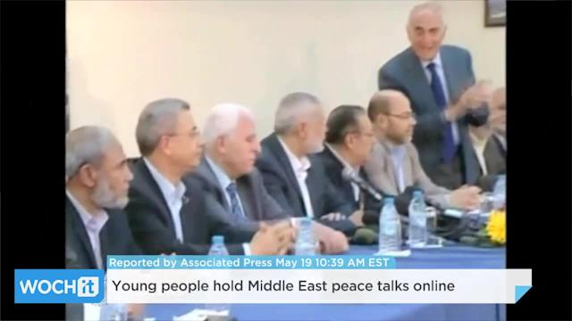 Young People Hold Middle East Peace Talks Online