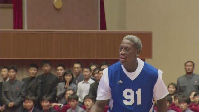 Rodman puts on a show for Kim's birthday