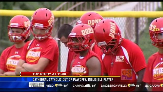 Cathedral Catholic out of playoffs, ineligible player
