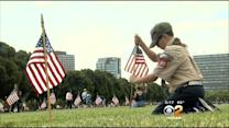 Scouts Honor Fallen Soldiers By Planting 86,000 Flags On Graves
