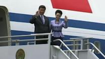 Chinese President's Glamorous Wife Gets Noticed